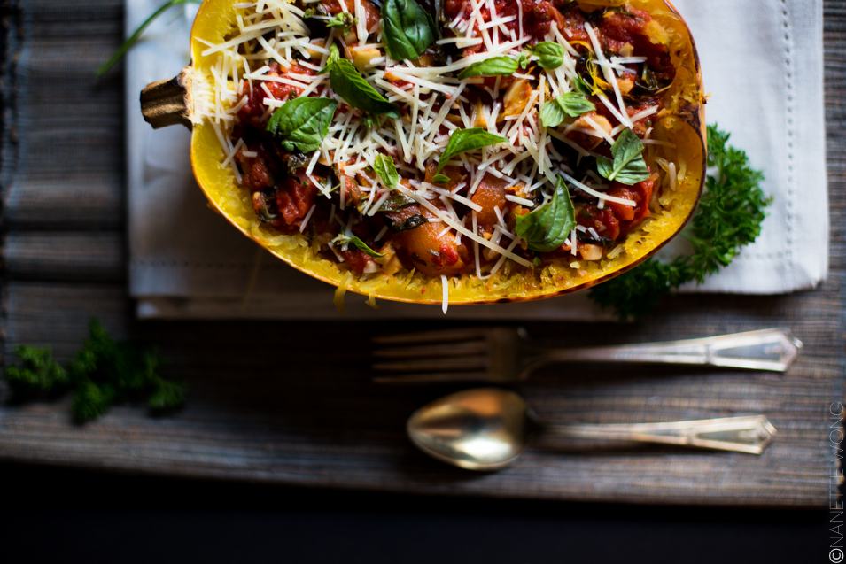 RECIPE // Spaghetti Squash with Butter Roasted Tomatoes & Fresh Herbs ...