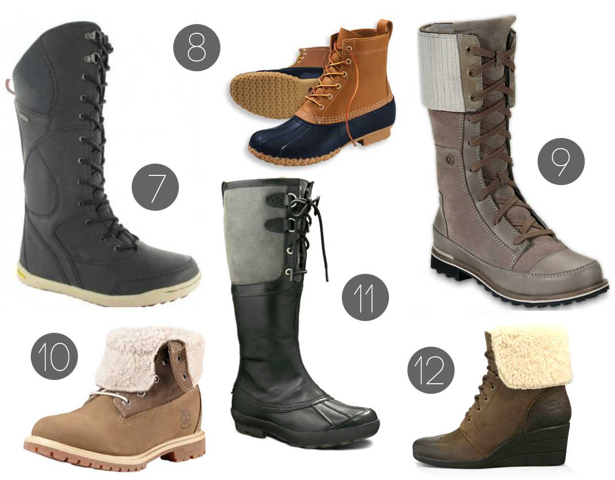 ROUNDUP // 12 STYLISH WINTER BOOTS - Cultural Chromatics